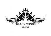 Black Wings Abaya-01